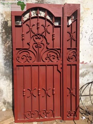 Mat riel de construction porte fer forge a vendre dakar banabaana for Les portes de fer forge