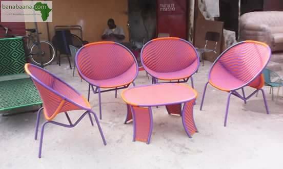 Mobilier meuble artisanal dakar banabaana - Mobilier de bureau dakar ...