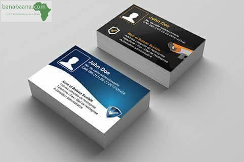Tampon Carte De Visite Flyer