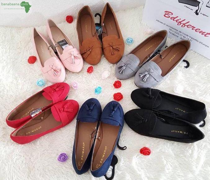 regarder économiser jusqu'à 80% réflexions sur Chaussures pour femmes Mocassin a pompom primark Abidjan ...